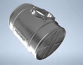 3D printable model 85MM ID Universal MAF Housing