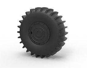3D print model Diecast Wheel from SHERP ATV