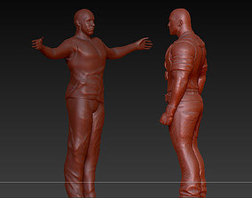 Toretto and hobes this is Brazil - rio 3D print model 2