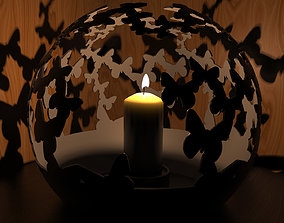 Butterfly Candle Holder 3D printable model