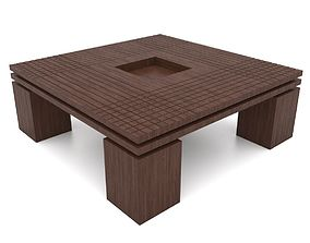 3D printable model Center Coffee Table 01