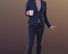 3D asset Bao 10278 - Talking Business Woman