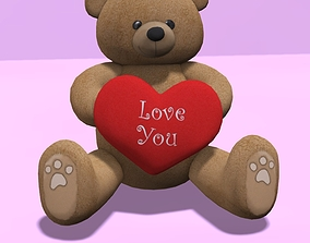 Ted Love San Valetine 3D model