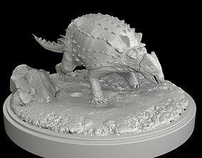 ankylosaurus Ankylosaurus Dinosaur 3D Print Model