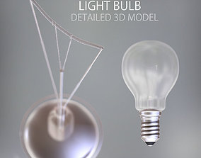Detailed Light Bulb 3D model