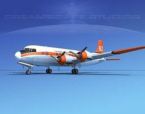 Douglas DC-6 California Dept Forrestry 3D