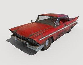 Abandoned Car 32 3D model