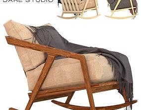 3D model Dare studio Katakana rocking chair