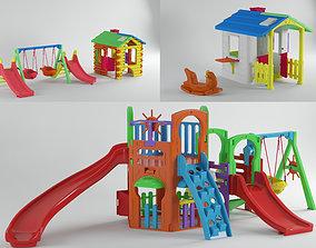 3D model Kids playground kit