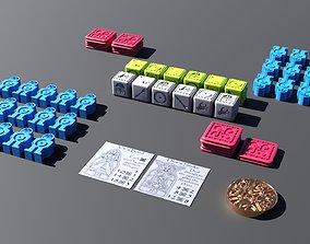 Orlog Game 3D printable model 3d