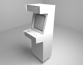 3D Arcade Cabinet