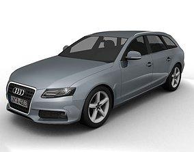 Audi A4 Avant 2008 3D model