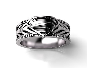 SUPER M RING 3D print model