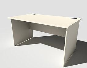 3D model Office Desk Panel End