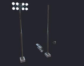 3D model Floodlight Tower