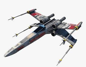 STARWARS X-wing Aeroplane 3D model