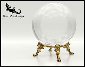 Fortune teller crystal ball 3D