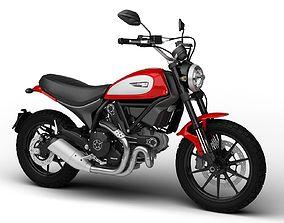 Ducati Scrambler Icon 2016 3D
