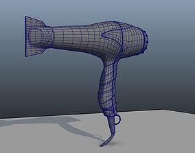 HairDryer 3D 3dmodel