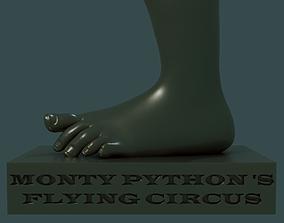 Monty Pythons Flying Circus Foot 3D print model