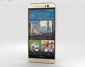 HTC One M9 Amber Gold 3D model