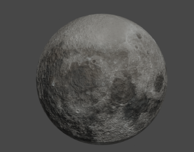 Very Detailed Moon Model