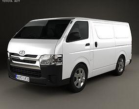 Toyota HiAce SWB Panel Van 2013 3D
