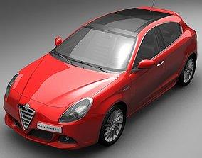 2011 Alfa Romeo Giulietta 3D