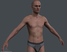 Male Body 2 - Realtime 3D asset