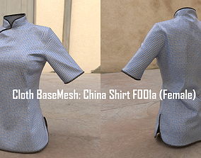 China Shirt F001a Female Marvelous and ZBrush 3D model