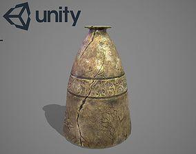 Fantasy vase 3D model realtime