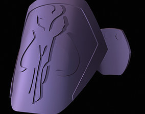 3D print model Mens MYTHOSAUR Pauldrons Shoulder Plates 1