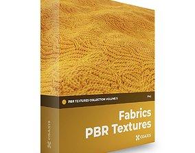 CGAxis PBR Textures Volume 5 Fabrics 3D model