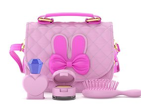 3D model Play Purse Set