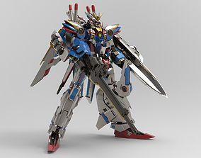 3D EX Wing Dragon Build full custom and bonus parts