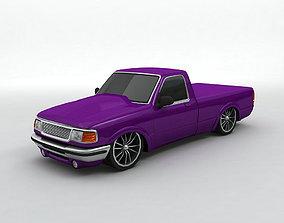 Pickup Truck Street Version 3D model