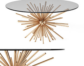 West Elm Sputnik Coffee Table 3D model
