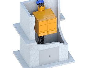3D model Industrial lift - Firm Floridan