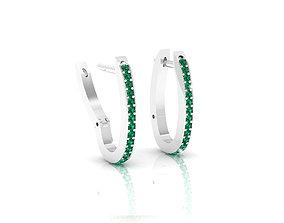 3D print model Diamonds Earrings