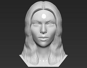 Scarlett Johansson bust 3D printing ready stl obj formats