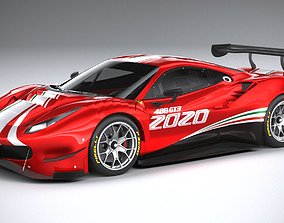 Ferrari 488 GT3 Evo 2020 3D