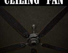 Ceiling Fan 3D model realtime