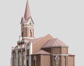 3D model facade Cathedral