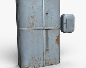 3D model Old switchboards