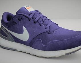 3D model Nike shoe low poly