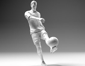 3D print model Footballer 02 Footstrike 01 Stl