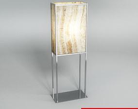 3D Floor Lamp fbx