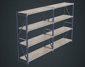 Steel Shelf 1B 3D model