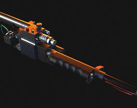 Proton Gun Ghostbusters weapon 3D model