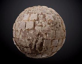 Stone Pavers Damaged Cobblestone Seamless PBR 3D model